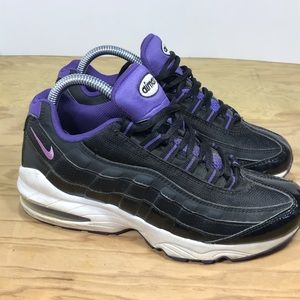 Nike Air Max 97 Black/Purple Womens Sz 7.5 youth 6